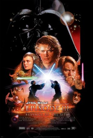 revenge of the sith poster 2