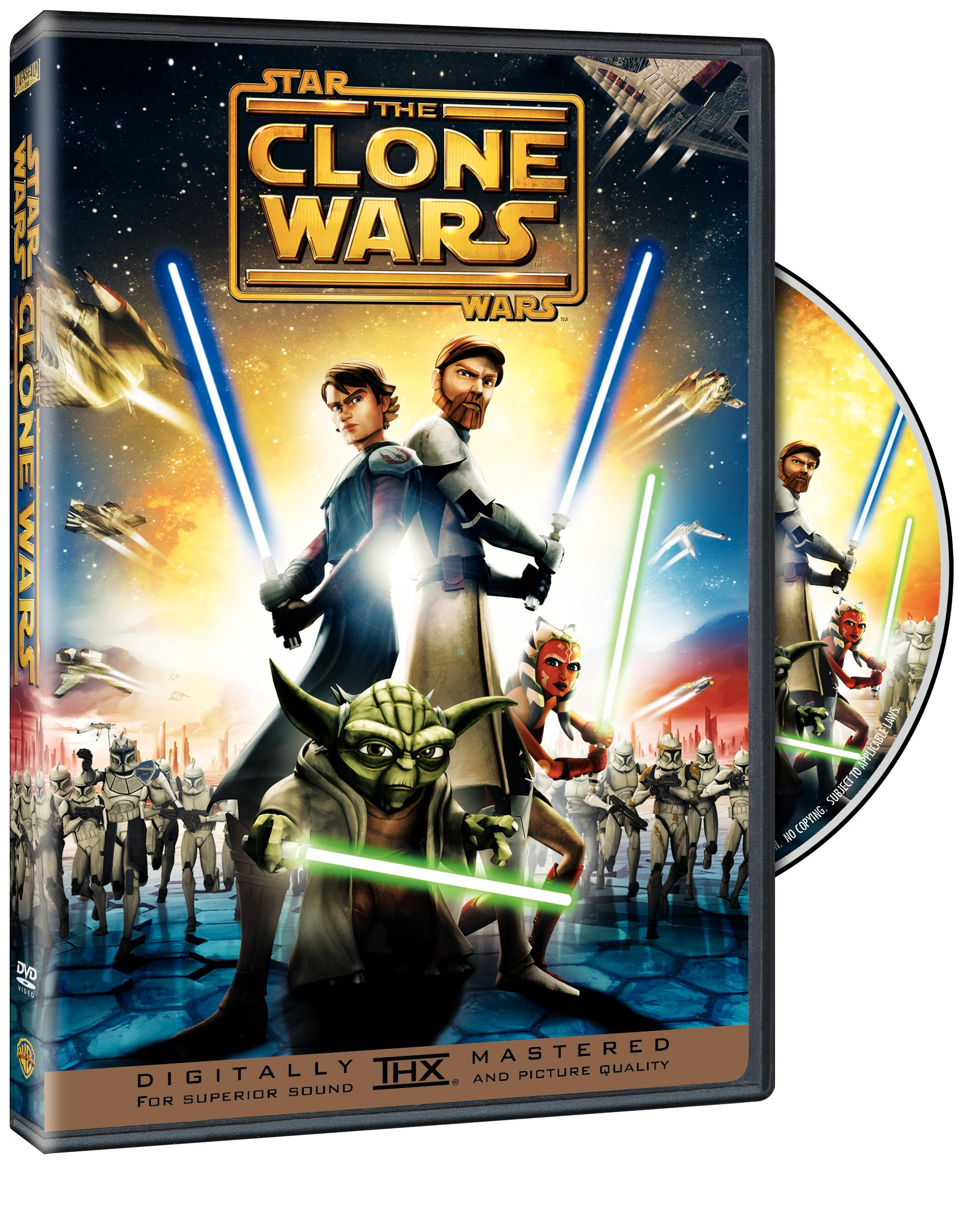 star wars clone wars dvd So, a big thank you to Tara Lynn of YarnOverMovement for such a fantastic ...