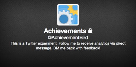 Twitter Achievement Bird