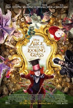 alice looking glass poster 1