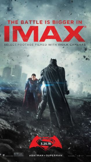 batman v superman poster imax