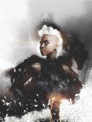x-men poster storm