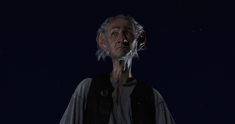 Oscar (R) winner Mark Rylance stars as the BFG (Big Friendly Giant) in Disney's fantasy-adventure, THE BFG, directed by Steven Spielberg based on the best-selling book by Roald Dahl, which opens in theaters nationwide on July 1.