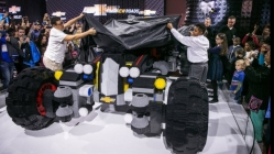 Chevrolet Unveils a Life-Size Lego Batmobile, and a Self-Parody Ad to Match