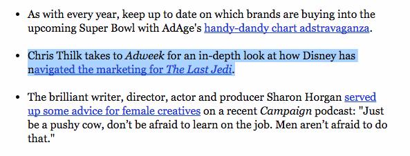 adweek star wars last jedi fast company