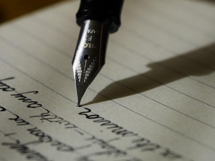 writing pen paper