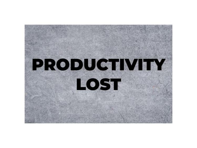 Productivity Lost Banner
